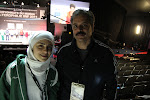 me and Iranian national team coach, Khansalar