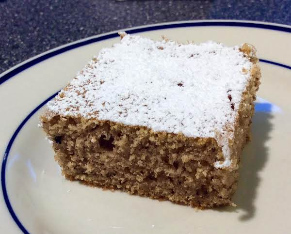 Heirloom Spice Cake (a Snack Cake) Recipe