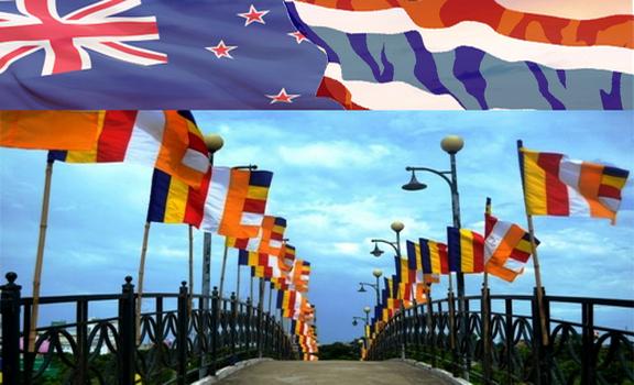 Thái Lan & New Zealand kỷ niệm 60 năm quan hệ ngoại giao bằng nghi thức Phật Giáo