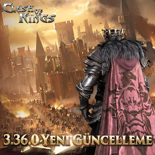 Clash of Kings 3.36.0 Güncellemesi