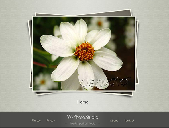 W-PhotoStudio WordPress Wedding Theme