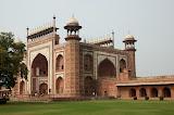 Indgangen til Taj Mahal