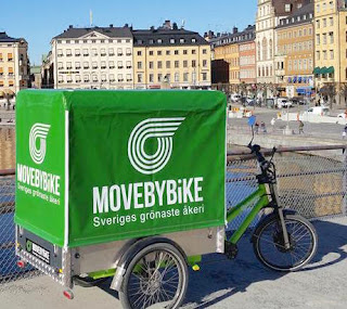 Move by bike slussen