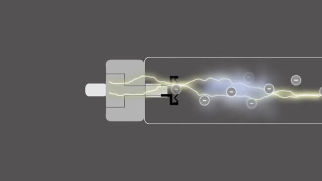 mercury strip their electrons and to create Plasma