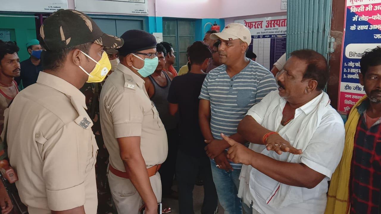 दिनदहाड़े अपराधियों ने आलू व्यवसाई को मारी गोली , इलाके में दहशत