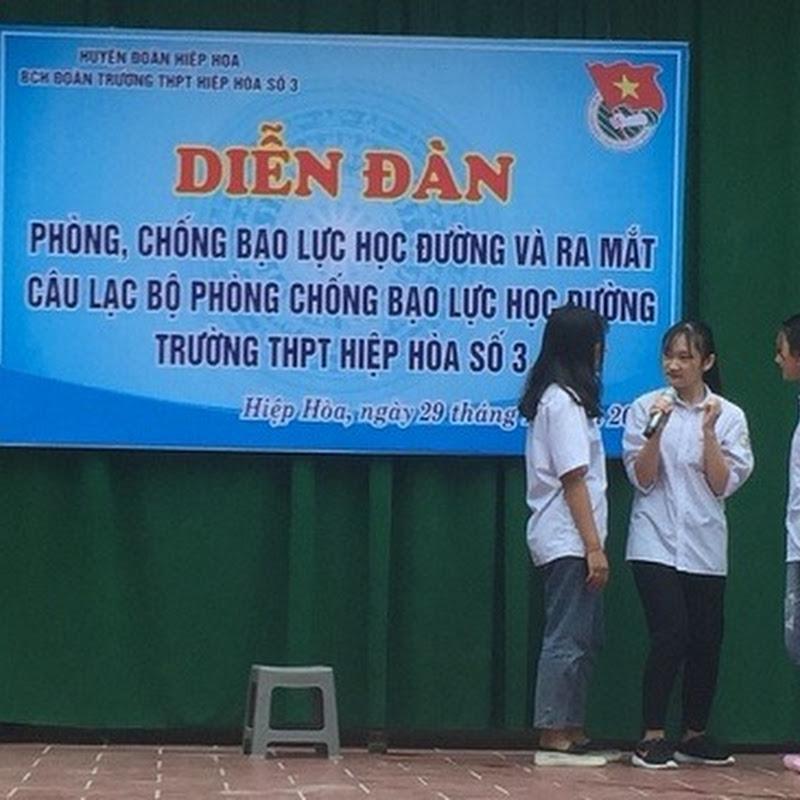 Diễn đàn xây dựng tình bạn đẹp, nói không với bạo lực học đường
