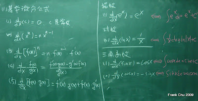 基本微分公式