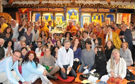 Dagri Rinpoche taught lam-rim for Istituto Lama Tzong Khapa's Basic Program, Pomaia, Italy, March 2012. Photo by Piero Sirianni.