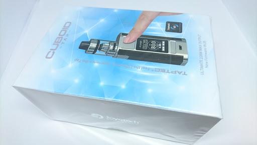 DSC 4124 thumb%255B2%255D - 【MOD】「Joyetech CUBOID TAP with ProCore Ariesスターターキット」(ジョイテックキューボイドタップウィズプロコアアリエス)レビュー。CUBOID新型はタッチバイブ操作&軽量デュアルバッテリーバージョンに進化した!!やったね。