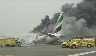 L'aéroport de Dubaï fermé après l'accident d'un avion à l'atterrissage