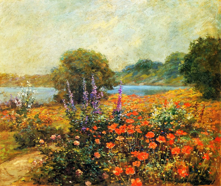 Abbott Fuller Graves - Poppies-1905-1910