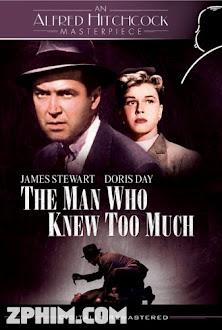 Người Đàn Ông Biết Quá Nhiều - The Man Who Knew Too Much (1956) Poster