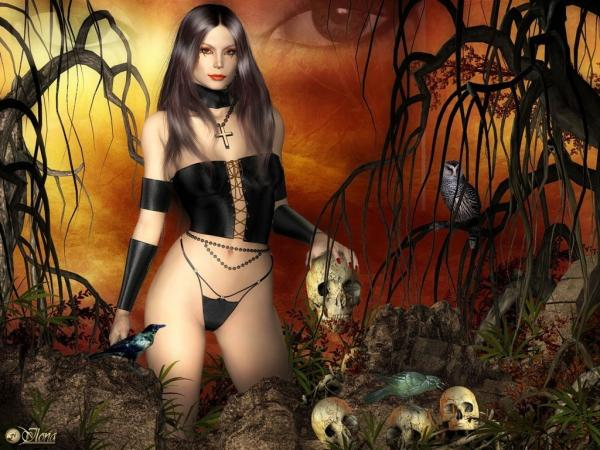 Satanic Wiccana, Satanic Beauties