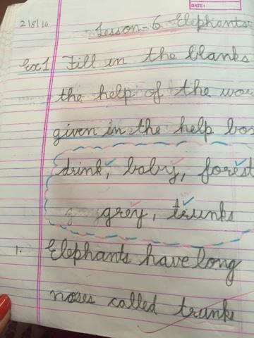 english class2 and 3: Elephants! Class-2
