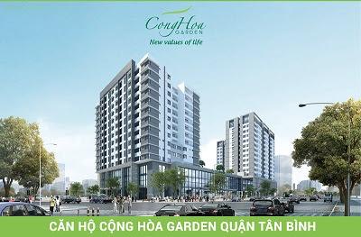 căn hộ chung cư dự án Cộng Hòa Garden quận Tân Bình