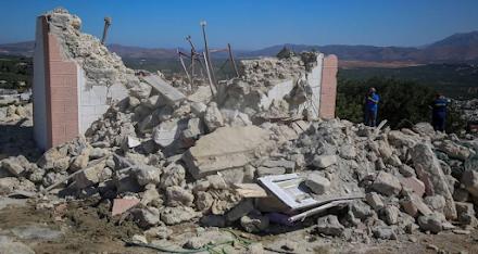 Σεισμός Κρήτη : Ένας νεκρός και σοβαρές ζημιές σε πολλά κτίρια - Πάνω από 20 οι τραυματίες