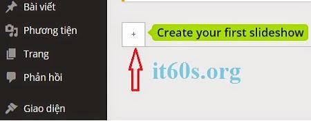 Cách tạo slide trình diễn ảnh chuyên nghiệp cho Wordpress 4