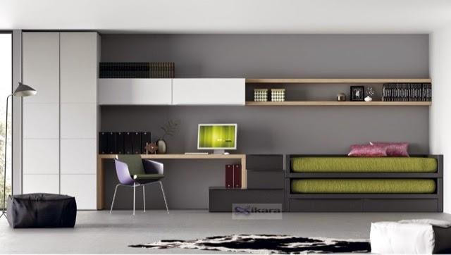 Dormitorios juveniles modernos para varones – dabcre.com
