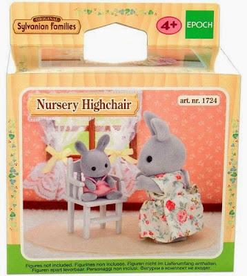 Hộp sản phẩm Ghế tập ăn cho búp bê bé Nursery Highchair