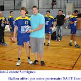 Seniors masculins 2 contre Sanvignes
