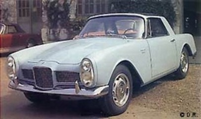 Facel Vega 1961 Facellia F2 coupé 2 places