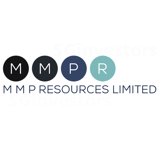MMP RESOURCES LIMITED (F3V.SI) @ SG investors.io