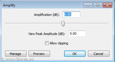 amplification audacity