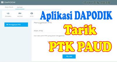 Tarik PTK PAUD Online