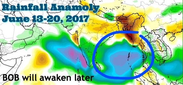 Early Arabian Sea Monsoon Rains May Drift To Oman