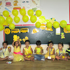 Yellow Colour Day (Nursery) 23.08.2016