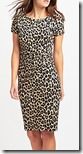 Max Mara Weekend leopard print jersey dress