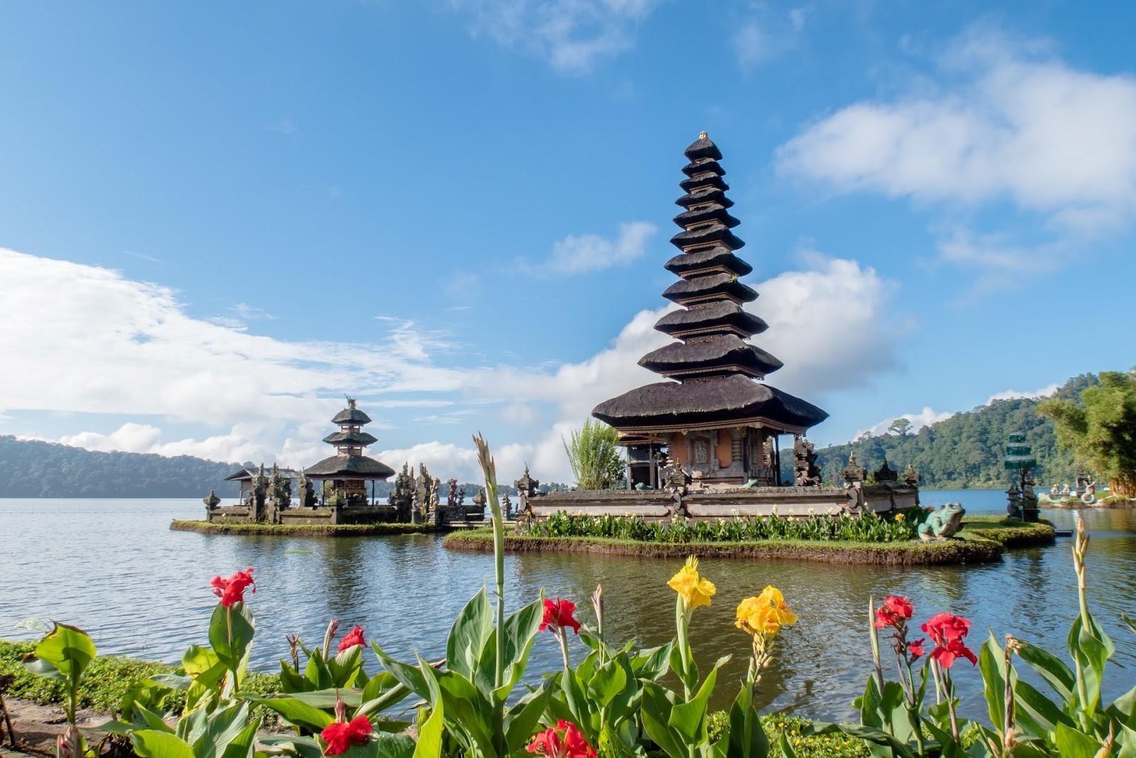 Beautiful temples of Bali, Indonesia