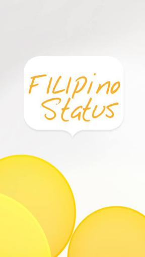filipino status