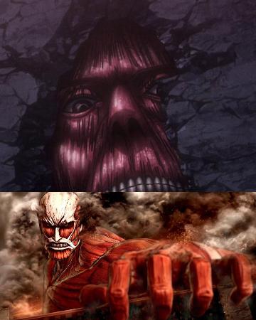 Attack on Titan: Perbedaan antara Titan Colossal & Paradis Wall Titans