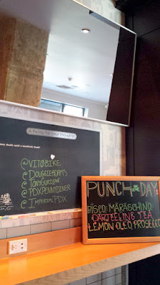 Portland Penny Diner offers a Punch of the Day that's $5 until it runs out.