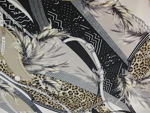 Photo: Ткань:атласный хлопок стрейч ш.140см. цена 3300руб.