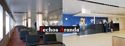 Delegaciones de techos de aluminio Madrid