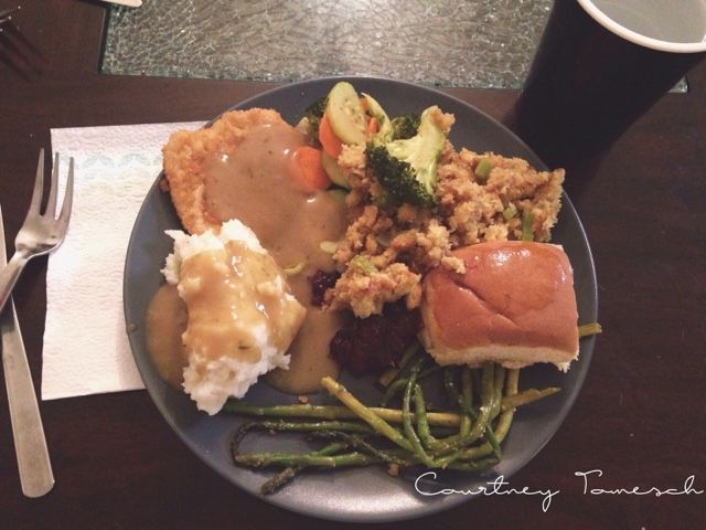Courtney Tomesch Vegan Thanksgiving