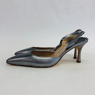 Manolo Blahnik NEW Sling Backs