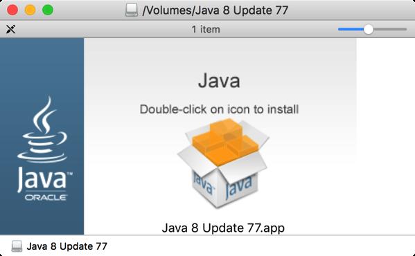 Java Installer app for OS X