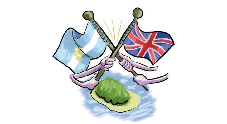 Disputa entre Argentina e Inglaterra pelas ilhas Malvinas