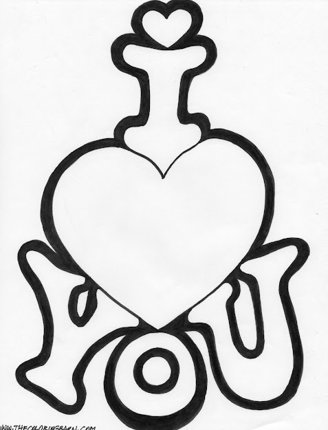 Love You Coloring Pages  Coloring Page Be My Valentine Coloring Page  Twist Heart Coloring
