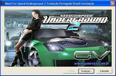 Need For Speed Underground 2 Traduçao PT/BR (GameVicio) Imagemn