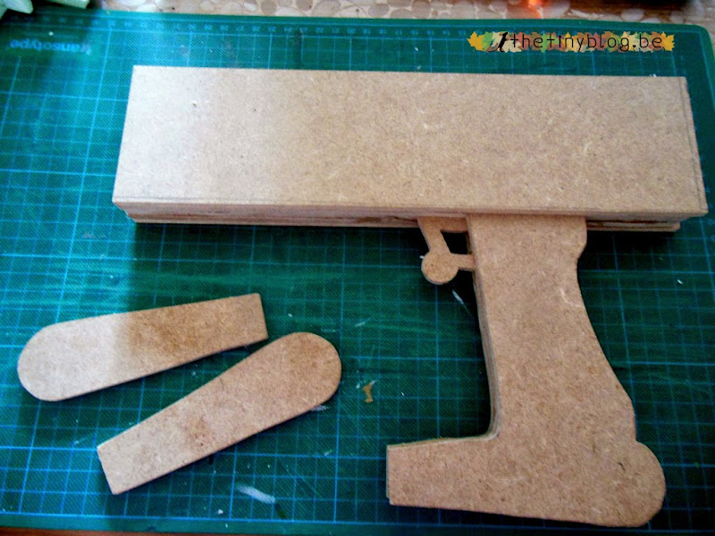 WIP Cosplay Fallout Laser Pistol AEP7