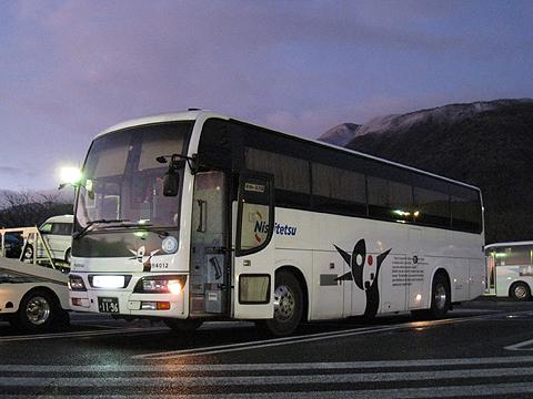 西日本鉄道「どんたく号」 4012 養老SAにて