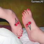 feet cherry - tattoos ideas
