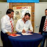 Ondertekenen sponsorcontracten 14-09-2014