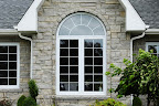 Wiarton Brown Grey Wall Stone and Sill