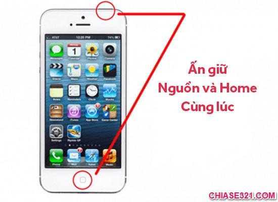 Cách chụp ảnh màn hình điện thoạiiphone 3 4 5