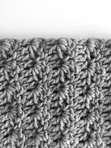 Daisy Farm Crafts Crochet Silt Stitch Cowl